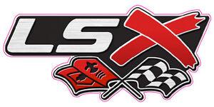 """LSX Emblem Decal 6"""" x 3"""""""