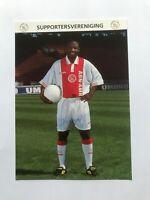 Autogramm TIJANI BABANGIDA-Ajax Amsterdam-NS NIGERIA-Ex-Changchun Yatai-AK