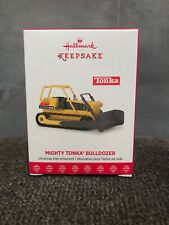 2017 Hallmark Ornament Mighty Tonka Bulldozer