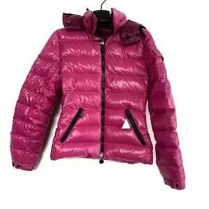 Auth MONCLER BADY Purple BlueGray Pink Womens Down Jacket # 00