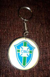 CBD BRAZIL'S TEAM 1980s - Original Old Key Chain