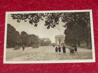 Yvon - Paris Strolling Avenue Wood Boulogne 1919 Helio 1ère Series - 1 CPA