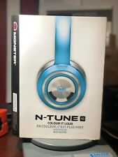 Monster N-Tune HD On-Ear Headphone (Oyster Blue)