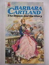 BARBARA CARTLAND 1977 Book ,The Dream and the Glory, A Pan Original , Romance