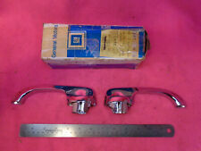 NOS GM 1961-1964 Chevy Impala RARE THICK Door Handles  Pair - chrome Pontiac