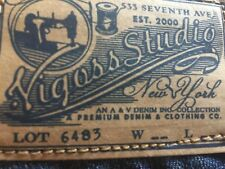 Vigoss The New York Boot Size 1/2 or 28 Jeans Hard to Find Dark Wash