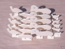 """NRA IHMSA 1/10 Tenth Scale Airgun Targets 20 Piece all 3/16"""" Thick Steel"""
