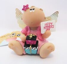 Angel Cheeks Mother's Day Figurine By Russ Berrie Tag And Free Gift Bag New