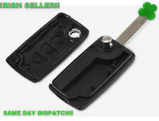 Peugeot Key Fob 207 307 407 Replacement 3 Button Remote Shell Case