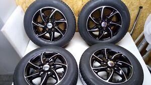 """4x Ronal R51 6.5x15"""" 5/114,3 ET 45 / Dunlop Sport BluResponse 195/65 R15"""