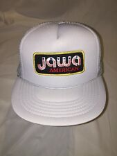 Rare Vintage 70s 80s Jawa American 350 Motorcycle Patch Snapback Hat Cz Biker
