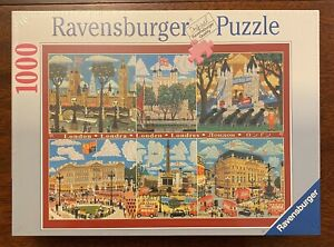 Ravensburger 1,000 Piece 'London Scenes' Jigsaw - Brand New - Still Sealed