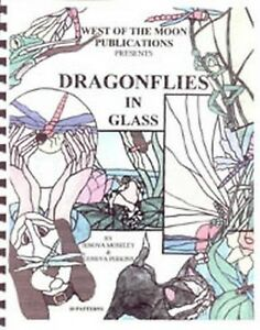 Stained Glass Pattern Book - DRAGONFLIES IN GLASS