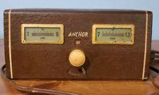 Radio: 1950's Anchor Radio Corp. Tv Pre-Amplifier Arc-101-50, Lights Up! Vtg