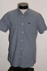 RVCA Mens Large L Button-up shirt Combine ship Discount