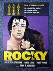 ROCKY Rare Original One Sheet Movie Poster Different Artwork Sylvester Stallone