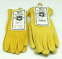 NEW GLOVES KEYSTONE DEERSKIN Genuine Leather MEN or LADIES Work & Play Made USA