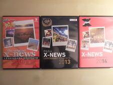 DocLX Jam/X-News 2012,2013,2014 Legendary Moments DVD zur Maturareise +Cro 3/DVD