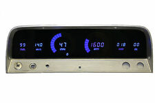 Chevy Truck DIGITAL DASH PANEL FOR 1964-1966 Gauges Intellitronix BLUE LEDs!