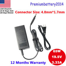 New AC Adapter Battery Charger For HP Pavilion Touchsmart 14-b109wm Sleekbook US