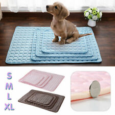 Dog Cooling Mat Pet Pad Mattress Cat Cushion Summer Keep Cool Non-Toxic Bed Gel