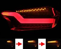 LED BARRA LUCES TRASERAS F. Ford Focus MK3 UNIDAD NEGRO Sequential Indication