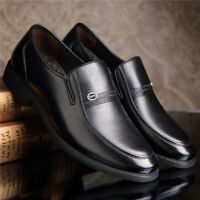 New Men Formal Dress Shoes Wedding Oxford Leather Brogue Business Shoes Fashion
