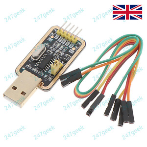 🇬🇧 CH340 Gold USB TTL Serial Adapter Router upgrade Arduino FTDI CP2102 PL2303