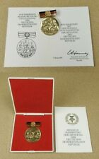 """Medaille """"30. Jahrestag der Gründung der DDR"""" + Blanko Urkunde von 1979"""