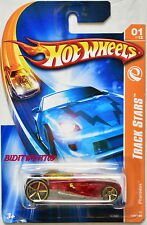 HOT WHEELS 2007 TRACK STARS PHARODOX RED