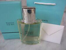 TIFFANY FOR MEN COLOGNE by TIFFANY & CO 100ml / 3.4oz DISCONTINUED Perfume NIB