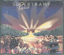 Supertramp - Paris 1st Press West Germany Fat Box 2X Cd Ottimo