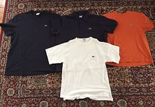 4 Lacoste Men's Polo Sport Lot Shirts EUR 6,7,9 Size Medium Large France
