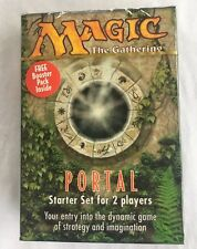 Magic the Gathering Portal Starter Set 2 Player Rare Sealed w Bonus Booster Pack