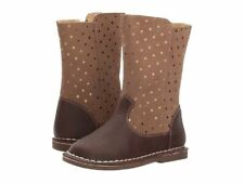NIB LIVIE & LUCA Shoes Boots Vega Sable Brown Stars Toddler 4