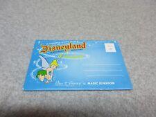 1950's Disneyland FANTASYLAND POSTCARD BOOKLET 12 Views Unused   TINKER BELL
