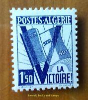 EBS French Algeria 1943 - Un seul but - la Victoire! - Drapeau DZ 199 MNH**