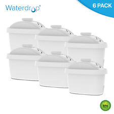 6 Waterdrop Universal Water Filter Cartridge for Brita Maxtra+ Microflow Mavea