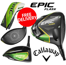 Callaway Epic Flash Drivers Various Shafts & Lofts 9.0, 10.5, 12.0 Reg and Stiff