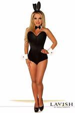 Sexy Lavish Tuxedo Bunny Playboy Playmate Corset Costume Reg/Plus Size Avail
