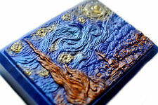 Van Gogh's Starry Night Soap Bar in Metallic Colors - Corona Blue/Lapis Blue