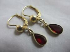 Garnet Earrings Victorian Fine Jewellery