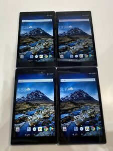 """Lot of 4 Lenovo Tab 4 TB-8504F Wi-Fi Only AS-IS """"Boated Battry"""" READ! (B11:13)"""