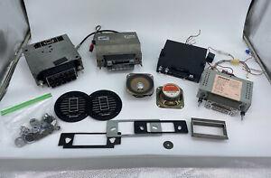 Vintage Car Stereo Cassette Player AM FM Radio Lot Pioneer Sanyo Audiovox