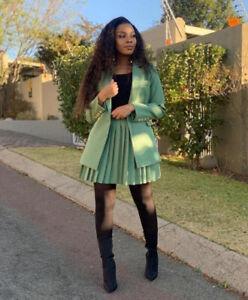 Autumn Suit, Two-piece Suit, Skirt Suit, African Women's Clothing