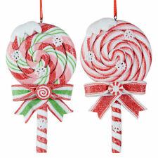 Raz Lollipop Ornaments, set of 2
