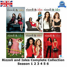 Rizzoli and Isles Season 1-6 Collection 1 2 3 4 5 6 with all the Episodes UK DVD