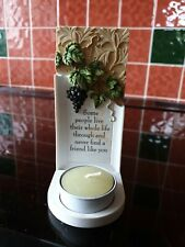 Best Friend Candle & Holder