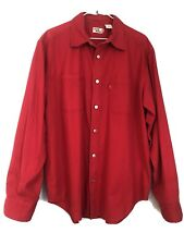 Levis Jeans Shirt Metal Button Red Tab Quality Vintage Medium Country Cotton (38