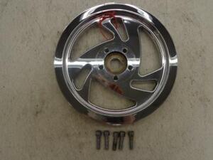 1996 Titan Motorcycle Co Company Gecko BELT SPROCKET PULLEY REAR CHROME 70t